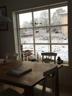 Rotes Haus im Winter 306